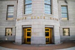 Die Mitte der Verwaltung in Augusta State Capital, Maine lizenzfreies stockfoto