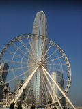 Die Mitte Hong Kong des internationalen Finanzwesens Stockbilder