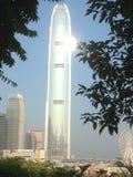 Die Mitte Hong Kong des internationalen Finanzwesens Lizenzfreie Stockbilder