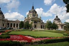 Die Mitte von Budapest Stockfotos