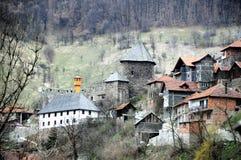 Die mittelalterliche Stadt von Vranduk 2 Stockfotografie