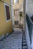 Die mittelalterlichen Viertel der Stadt lizenzfreies stockbild