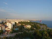 Die Mittelmeerküste, Antalya stockfoto