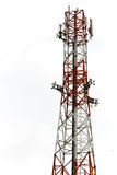 Die mobile Antenne Lizenzfreies Stockfoto