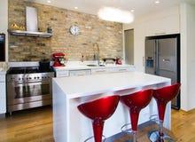 Die moderne Küche Stockfotografie