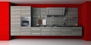 Die moderne Küche lizenzfreie abbildung