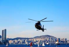 Die moderne Stadt von Hong Kong Stockbild