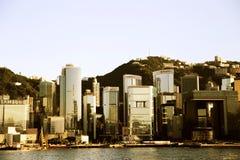 Die moderne Stadt von Hong Kong Stockfotografie