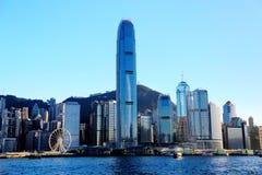 Die moderne Stadt von Hong Kong Lizenzfreies Stockbild