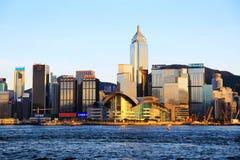 Die moderne Stadt von Hong Kong Stockfotos