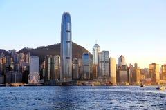 Die moderne Stadt von Hong Kong Stockbilder