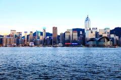 Die moderne Stadt von Hong Kong Stockfoto