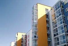 Die modernen lebenden Häuser lizenzfreie stockbilder