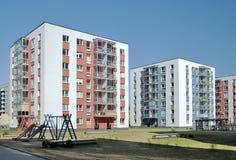 Die modernen lebenden Häuser stockfotos