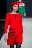 Die Modeschau Pierre Cardin in der Moskau-Mode-Woche mit Liebe für Russland-Fall-Winter 2016/2017 Stockbild