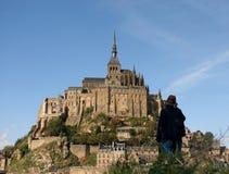 Die Mont Str. Michel Stockbilder