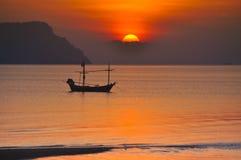 Die Morgensonne. Lizenzfreie Stockbilder
