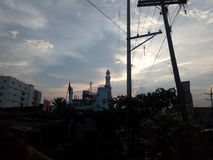 Die Moschee Stockfoto