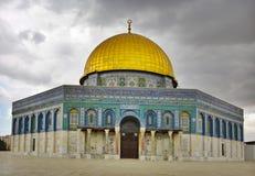 Die Moschee des Felsens (Oman), Jerusalem, Israel Stockbild