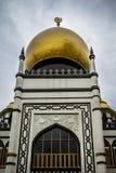 Die Moschee des Sultans, Singapur Lizenzfreie Stockfotografie
