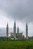Die Moschee in Nizhnekamsk-Stadt (Tatarstan, Russland) Stockfotografie