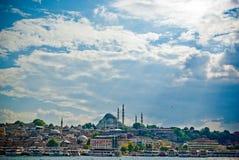 Die Moschee Nuruosmaniye lizenzfreie stockfotos