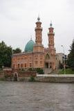 Die Moschee in Vladikavkaz Stockbild