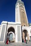 Die Moschee von Hassan II in Casablanca Lizenzfreies Stockbild