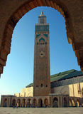 Die Moschee von Hassan II, Casablanca Stockfotos