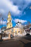 Die Museums-Kirche von Sankt Nikolaus das Wonderworker in Tolmachi moskau Russland Stockfotografie