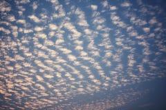 Die Musterwolken Lizenzfreies Stockbild