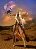 Die Mutter des Drachen, 3d CG Lizenzfreies Stockfoto