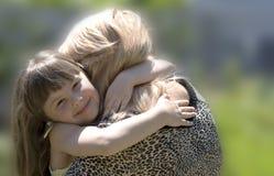 Die Mutter und die Tochter Lizenzfreie Stockbilder