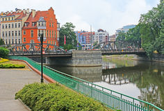 Die Mynski-Brücke Stockfotografie