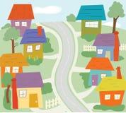 Die Nachbarschaft Lizenzfreies Stockfoto