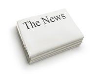 Die Nachrichten lizenzfreie stockfotografie