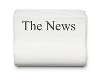 Die Nachrichten lizenzfreies stockbild
