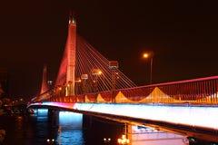Die Nacht der Haeinsa Brücke Lizenzfreie Stockbilder