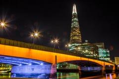 die Nacht London Lizenzfreies Stockbild
