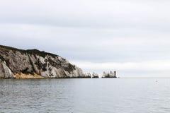 Die Nadel-Insel von Wight lizenzfreie stockfotos