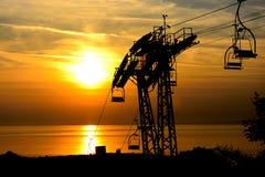 Die Nadeln in der Insel von Wight lizenzfreies stockfoto