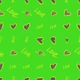 Die nahtlose abstrakte gezeichnete Begriffshand lieben für Valentinstag, Feiern oder Jahrestag Wiederholung, digital, Entwurf u.  vektor abbildung