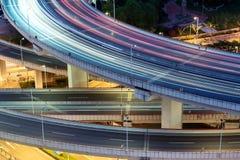 Die nanpu Brücke und die Überführung Lizenzfreies Stockbild