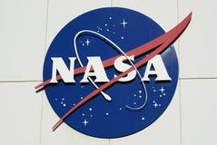 Die NASA-Fleischklöschenabzeichen Lizenzfreie Stockfotografie
