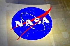 Die NASA-Insignien Lizenzfreie Stockfotos