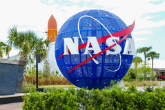 Die NASA Kennedy Space Center Lizenzfreie Stockbilder