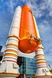 Die NASA-Raumfähre-Atlantis-Ausstellung stockbilder