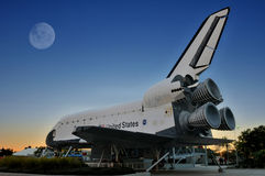 Die NASA-Raumfähre-Forscher stockfotografie