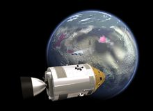 Die NASA-Raumfahrtmission Lizenzfreie Stockfotos