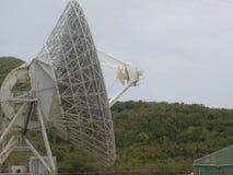 Die NASA-Satellitenschüssel-Profil-oben Abschluss Lizenzfreie Stockbilder